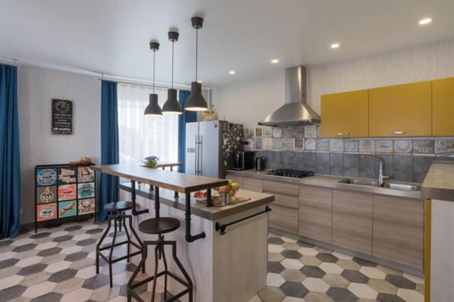Напольная плитка для кухни: фото и цены, виды, характеристики