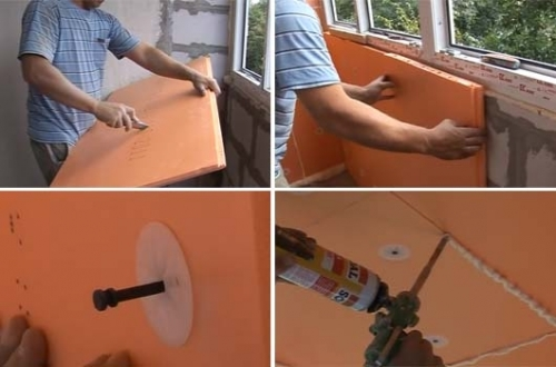 Утепление лоджии своими руками: пошаговая фото-инструкция