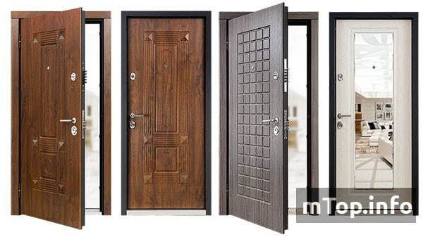 Рейтинг входных дверей в квартиру и отзывы владельцев, обзор цен