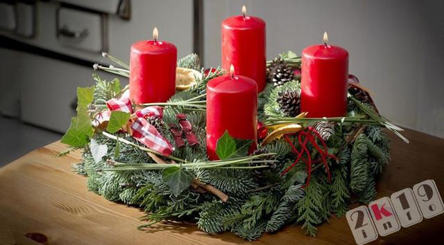 Новогодний подсвечник своими руками: красота в доме, доступная каждому