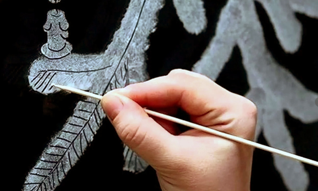 Трафареты украшений на окна к новому году: технология создания, мастер-классы