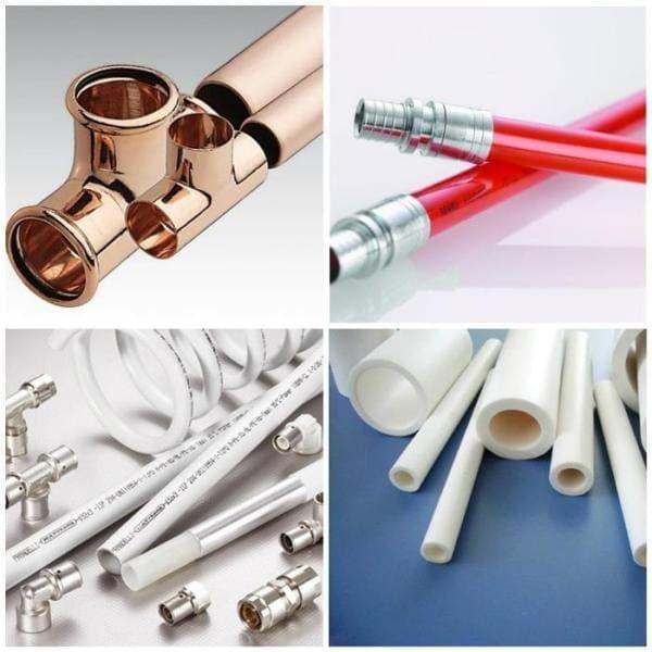 Трубы для отопления: какие лучше выбрать, обзор характеристик