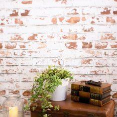 Кирпичная стена в интерьере: обои под кирпич, фото-примеры, видео