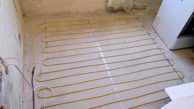 Калькулятор расчета шага укладки обогревательного кабеля