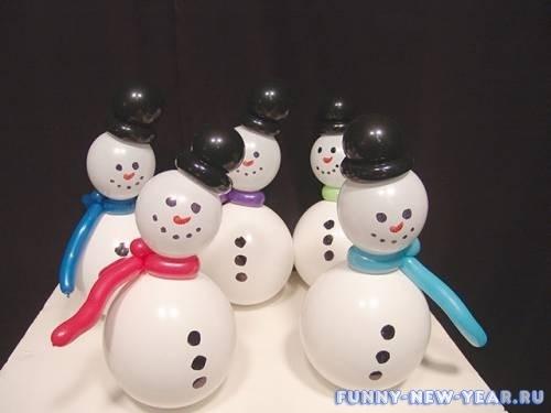 Снеговики к Новому году своими руками: инструкции, этапы процесса