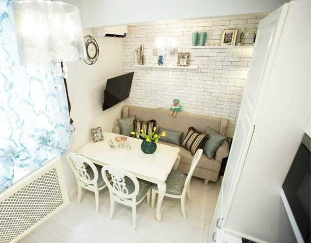 Кухонный уголок для маленькой кухни: виды, размеры, фото моделей