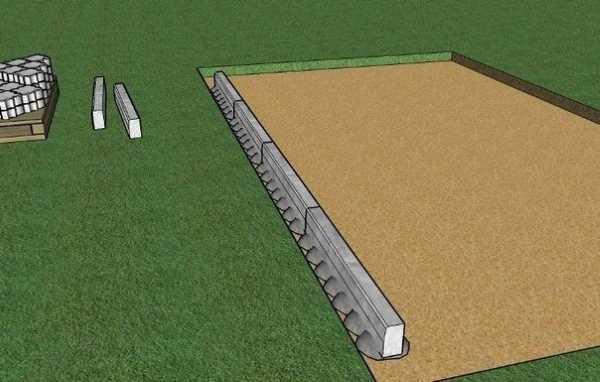 Технология укладки тротуарной плитки на песок: инструкция с фото