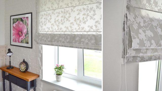 Римские шторы на пластиковые окна: фото, виды, крепление и советы