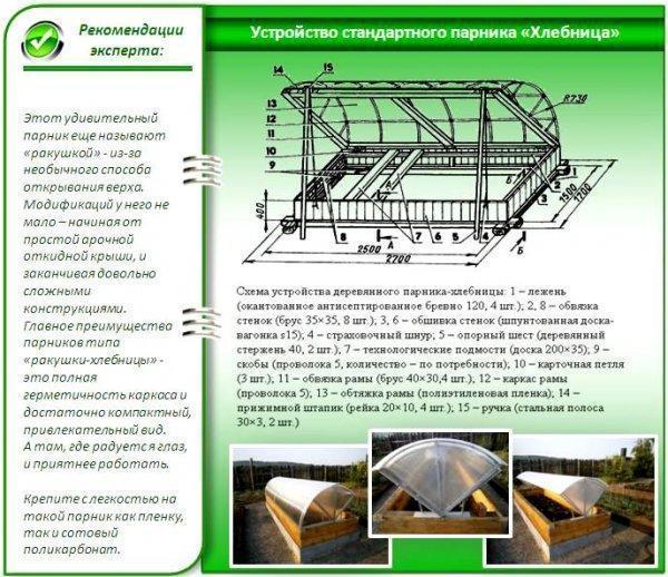 Парник Хлебница: простой и доступный способ увеличить урожай