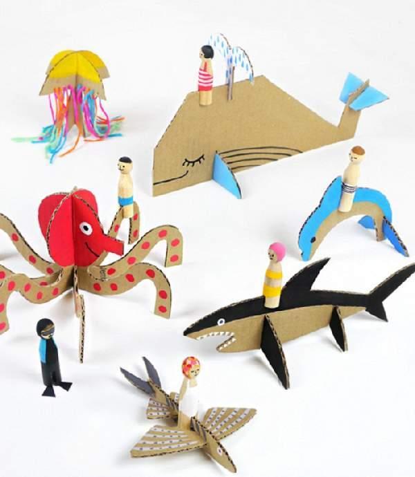 Что можно сделать из картона: креативные идеи для детей и дизайн