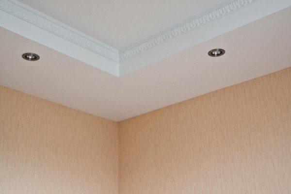 Точечные светильники для гипсокартонных потолков: виды, монтаж