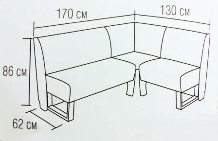 Угловой диван на кухню: виды, особенности конструкции, инструкция пошаговой сборки