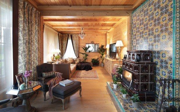 Отделка внутри деревянного дома: фото, способы, принципы, идеи