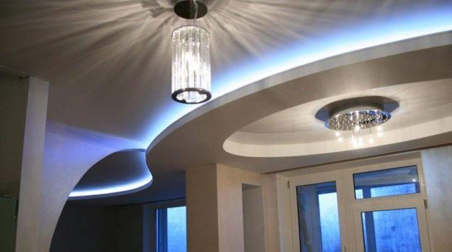 Фото парящих натяжных потолков для эксклюзивного дизайна